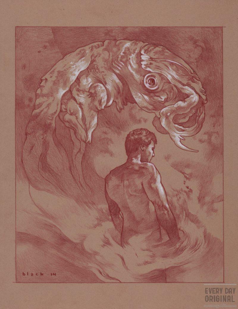 Mystic Birth original by Steven Russell Black