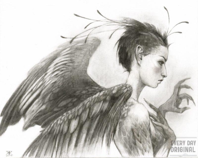 Bird Girl by Kim Kincaid