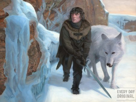 Beyond the Wall by Steven Hughes, Primary Hughes Illustration