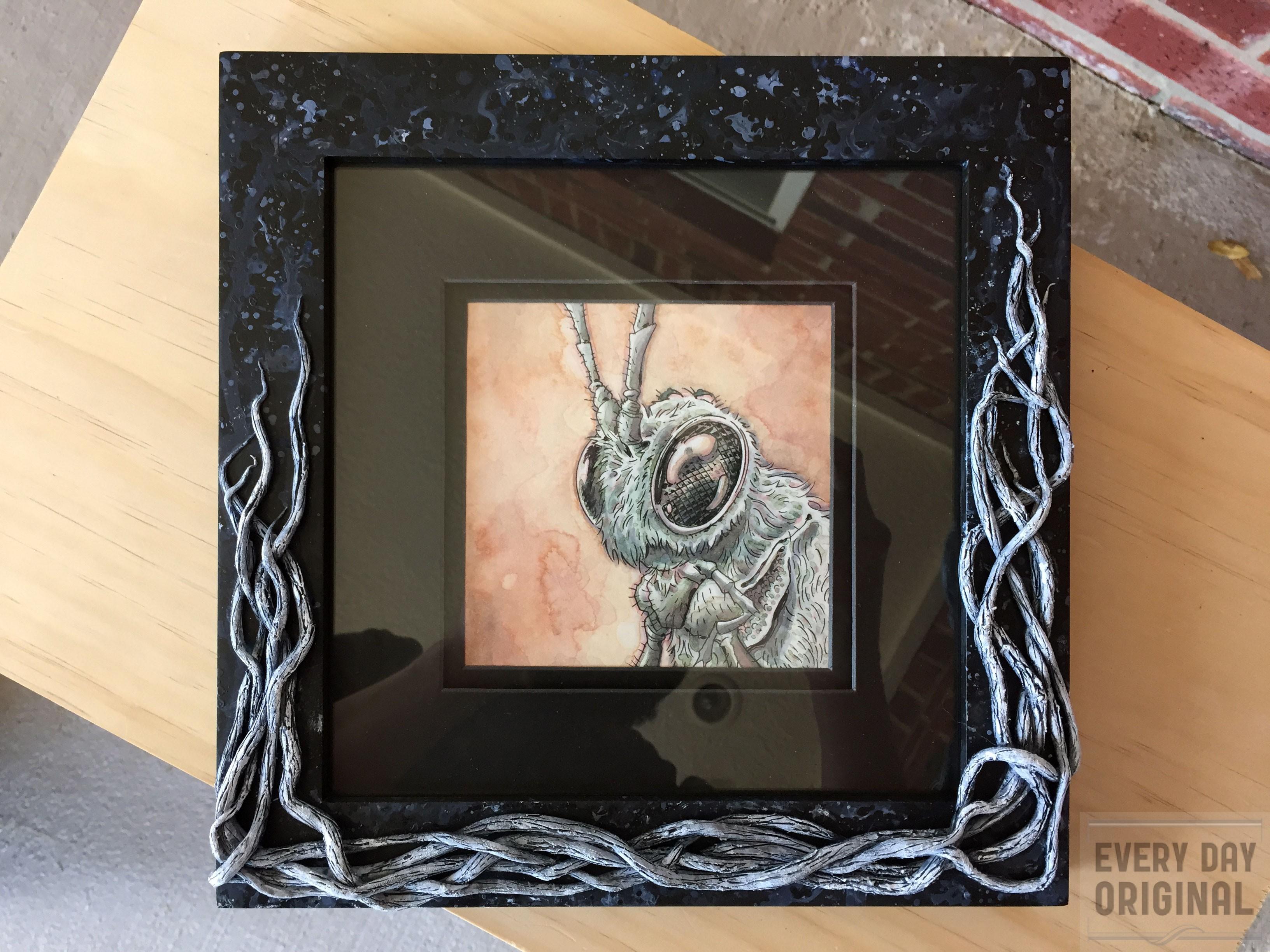 Dapper Dan, framed.