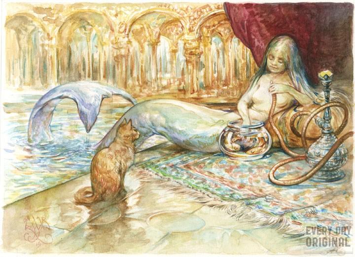omar rayyan snack time mermaid