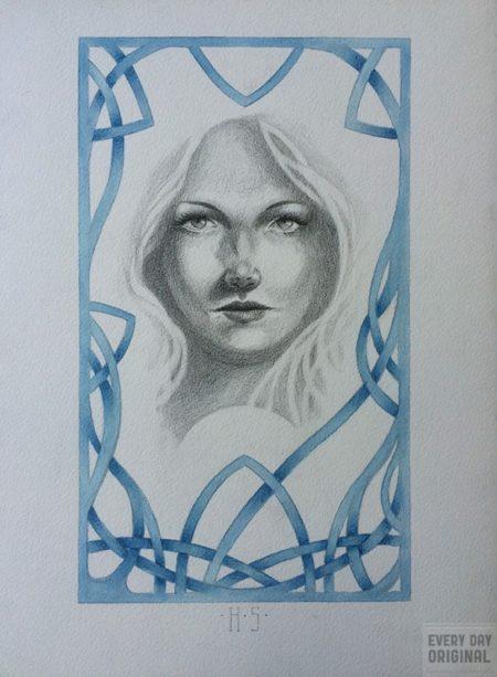 """""""Jofridr"""", art by HP Santoro"""