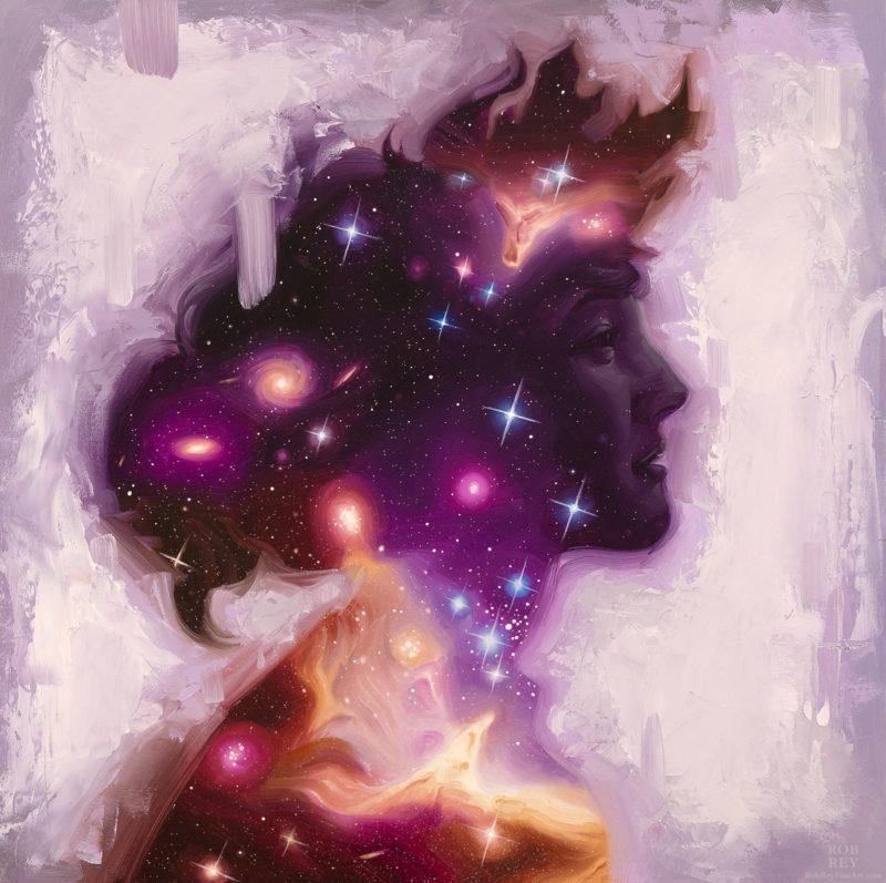 1 Rob Rey_Stardust Gazing Back_16x16
