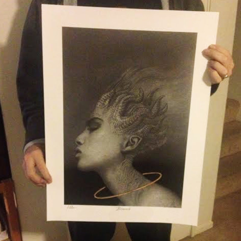 allen williams holding giclee