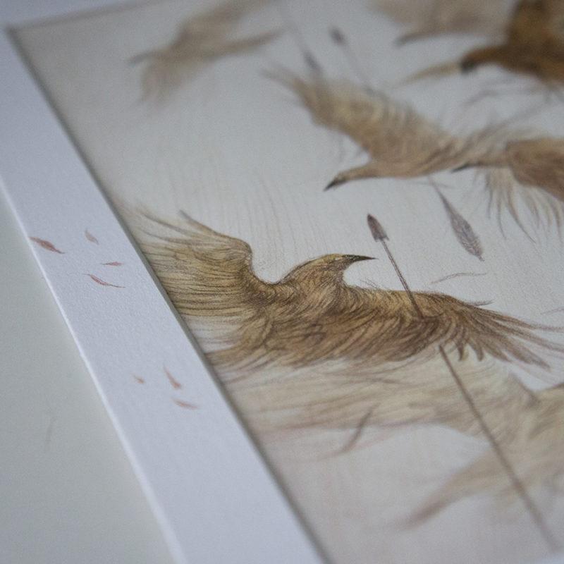 Ten Golden Crows by Rovina Cai