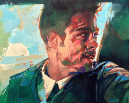 Original art by Bud Cook