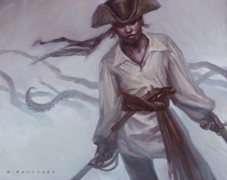 Oil painting by Ryan Pancoast