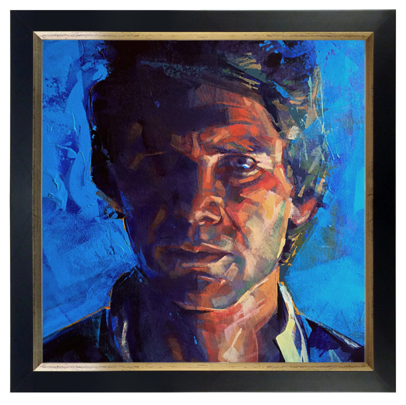 Portrait of Han Solo by Bud Cook
