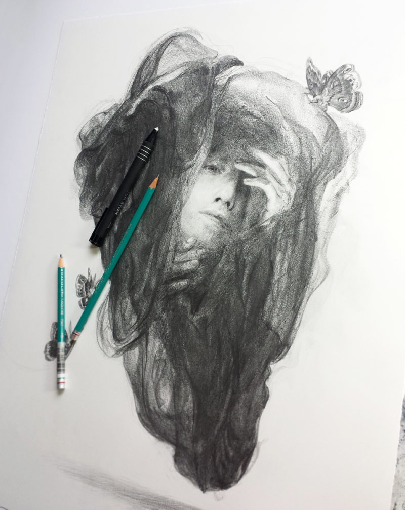 Cocoon Study #2 by Tran Nguyen