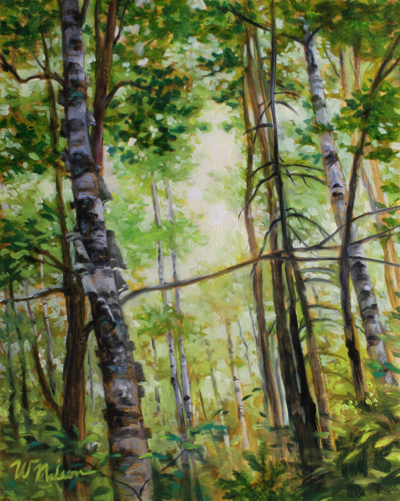 oil painting by Winona Nelson