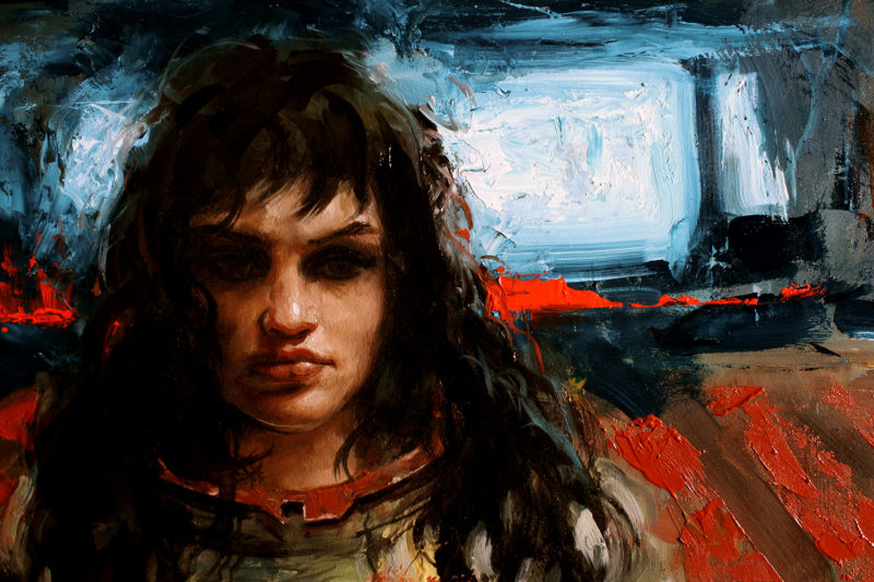 Oil painting by Anthony Palumbo