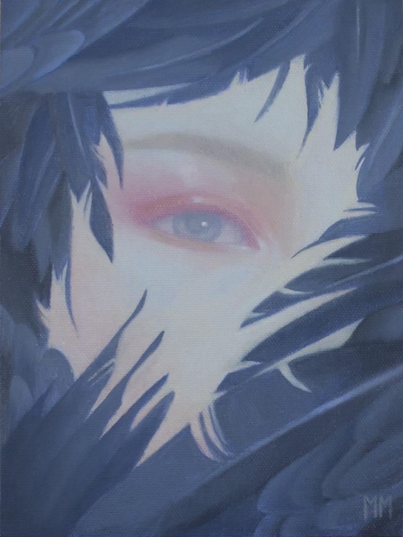 Daydreamer original painting by Miranda Meeks