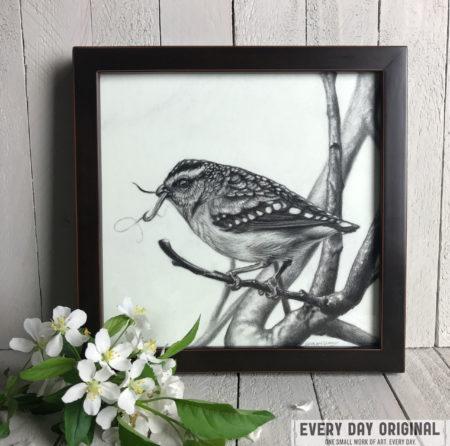 """Spotted Pardalote"" by Erica Lyn Schmidt"