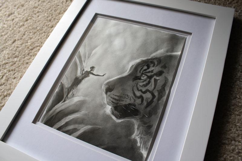 """""""Alice and the Tiger"""" by Mia Araujo"""