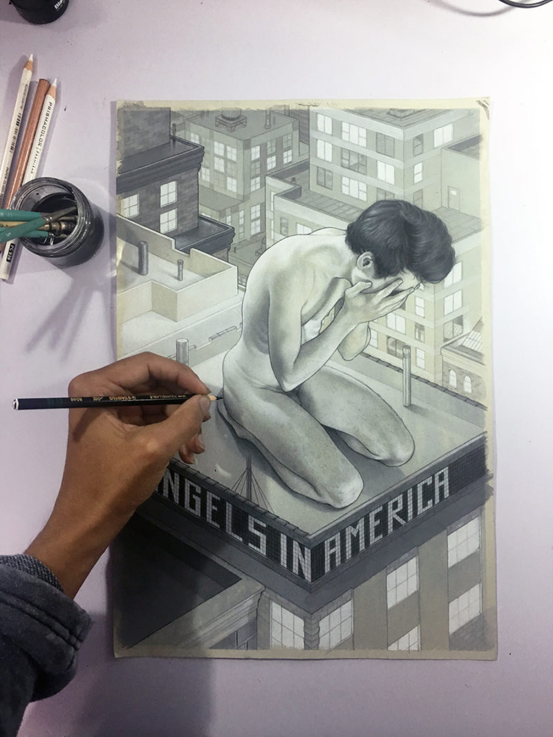 """""""Angels In America"""" - by Charles Chaisson"""