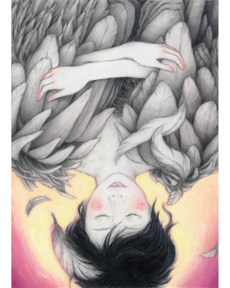 """Falling"" - by Christine Rhee"