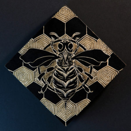 """""""Honeybee"""" - by M'fanwy Dean"""