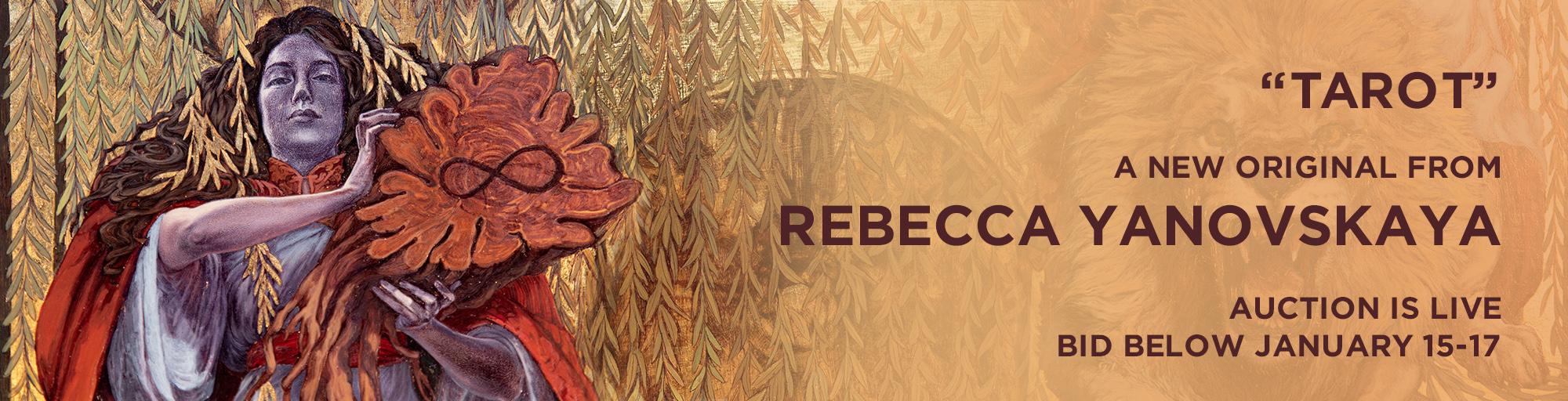 Tarot, an mixed media original by Rebecca Yanovskaya
