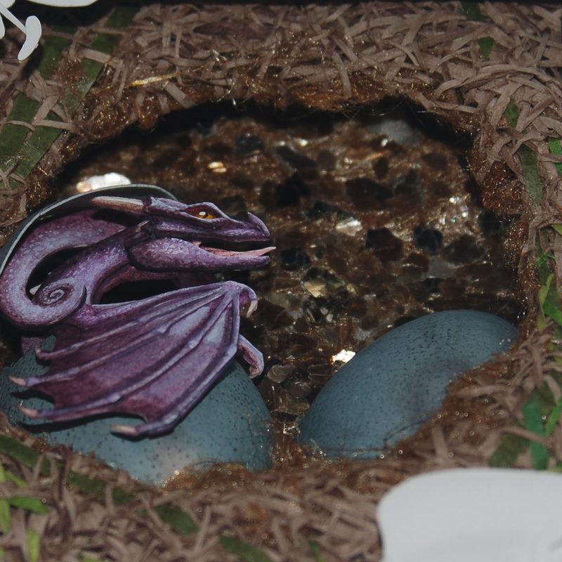 'Spring Awakening' Dragon Detail