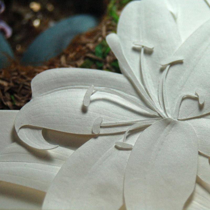 'Spring Awakening' Lily Detail