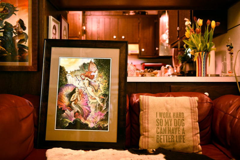 Boris Vallejo - EDO Auction -Flower-Real Life