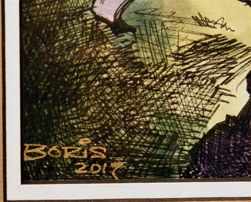Boris Vallejo - EDO Auction - Flower-Signature