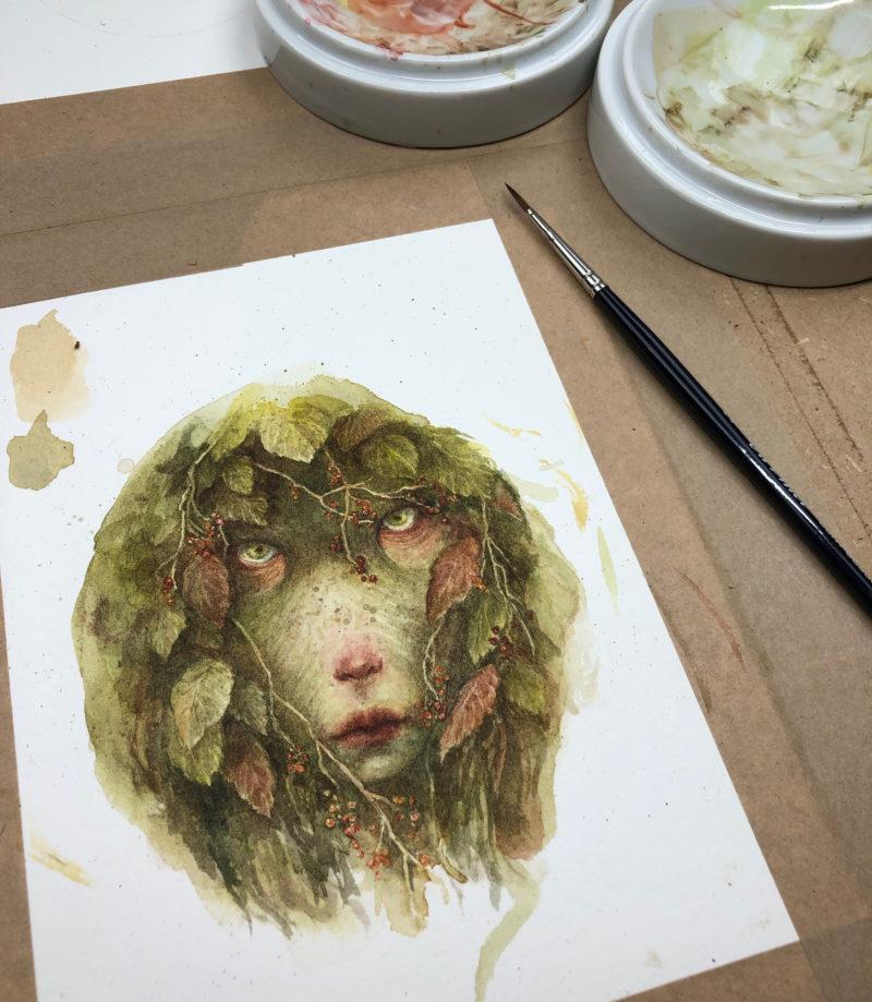 """Hedgewitch"" - by Iris Compiet"