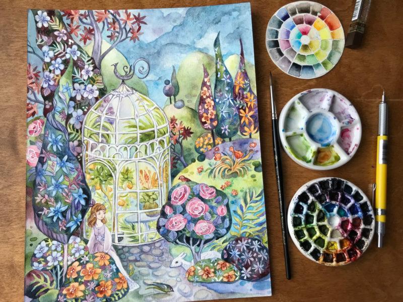 SecretGarden-by Ania Mohrbacher