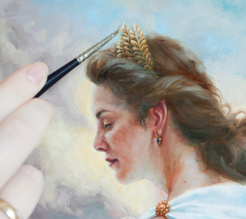 """Athena"" by Paige Carpenter"