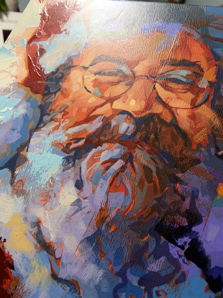 Santa by Bud Cook