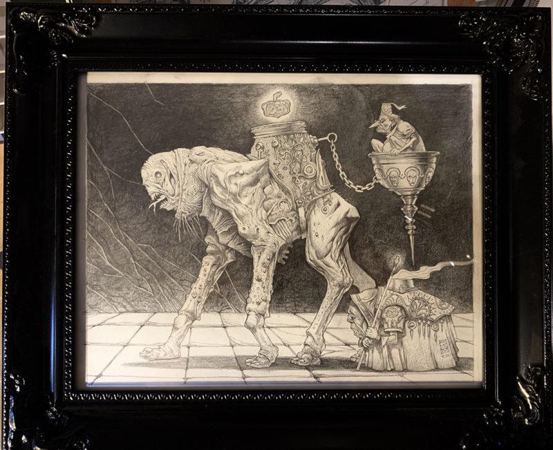 Arcaenic Symbiosis - Framed
