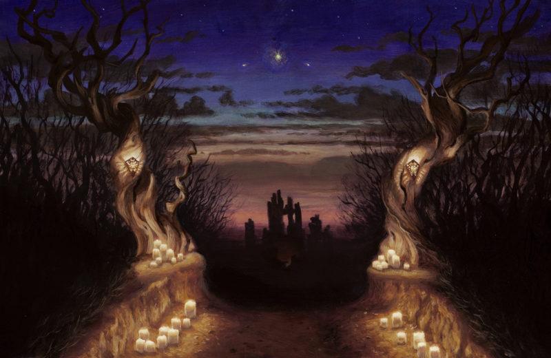 """Conjuring Nightfall"" by Sarah Finnigan"