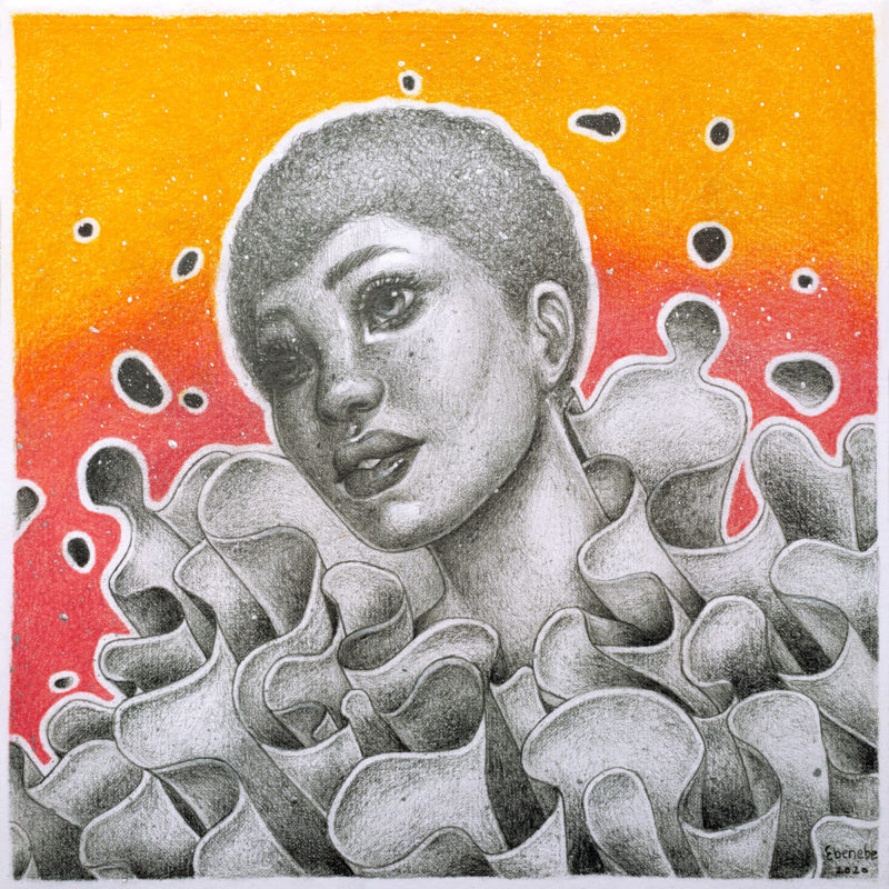 """Anemone"" by Ejiwa 'Edge' Ebenebe"