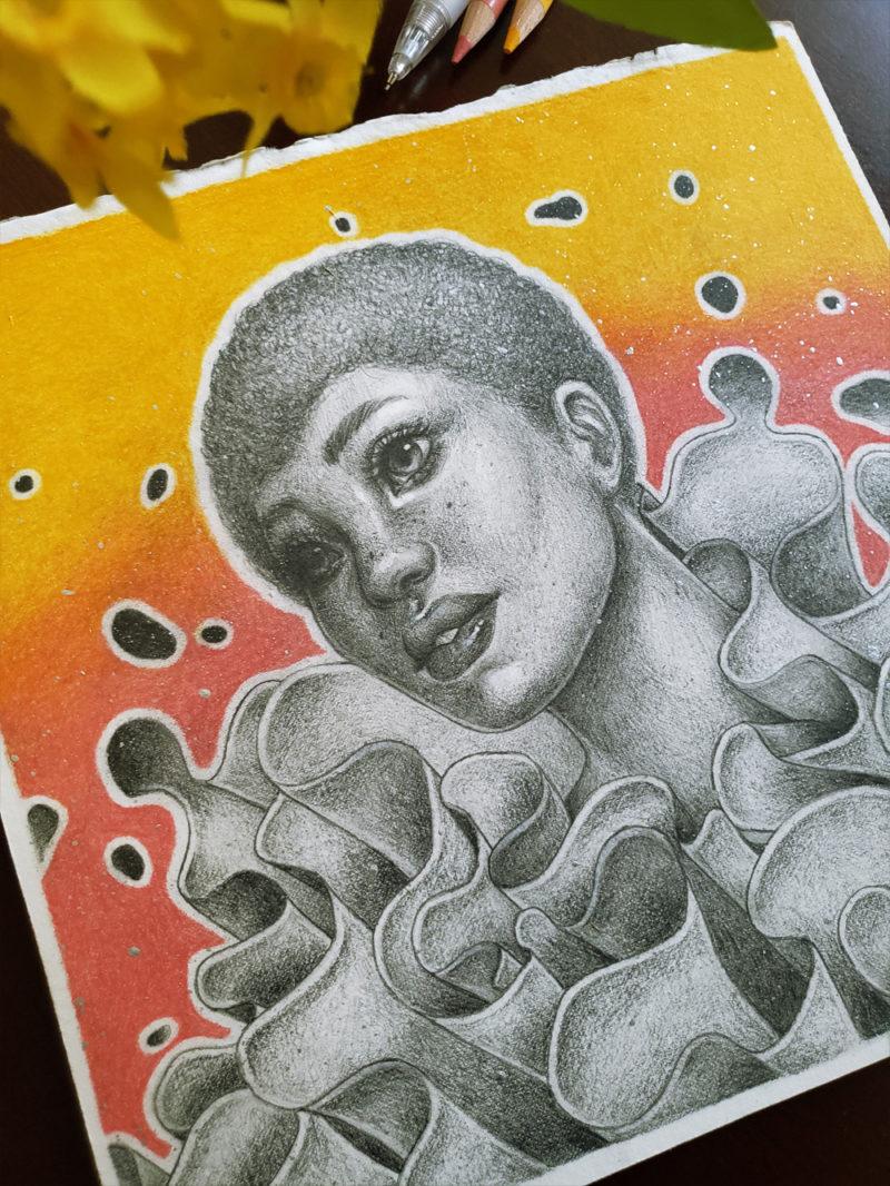 """""""Anemone"""" by Ejiwa 'Edge' Ebenebe - At Home"""