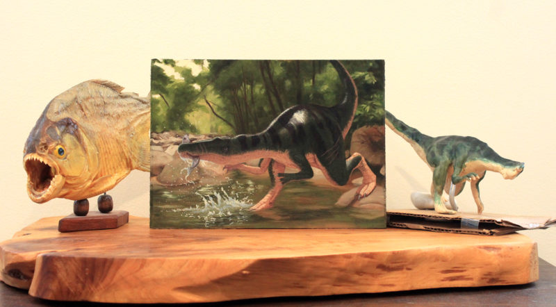 Display of Baryonyx by Owen William Weber