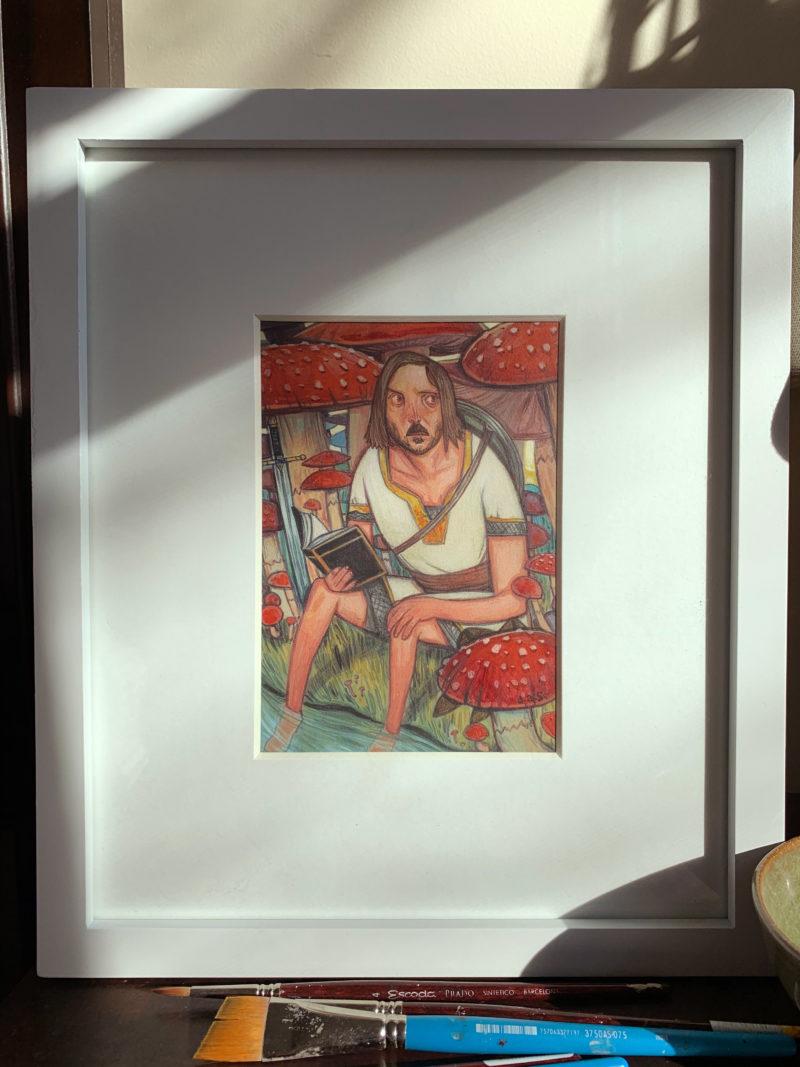 """""""The Reader"""" -- by Danny Schwartz"""