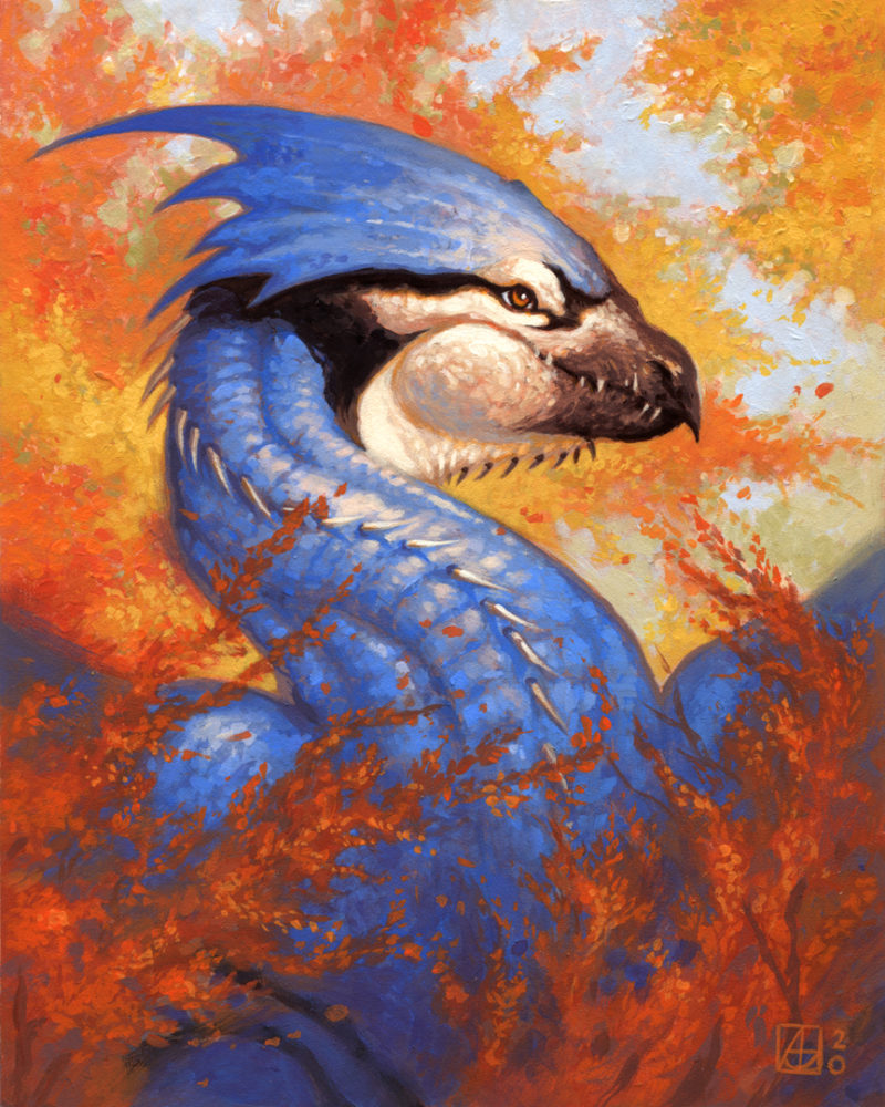 Dragon #44 - Northern Blue Dragon