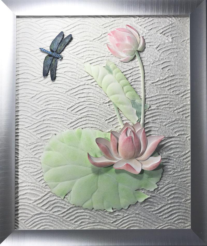 Framed Paper Sculpture
