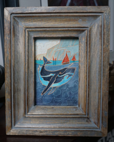 Galinn Seas, framed