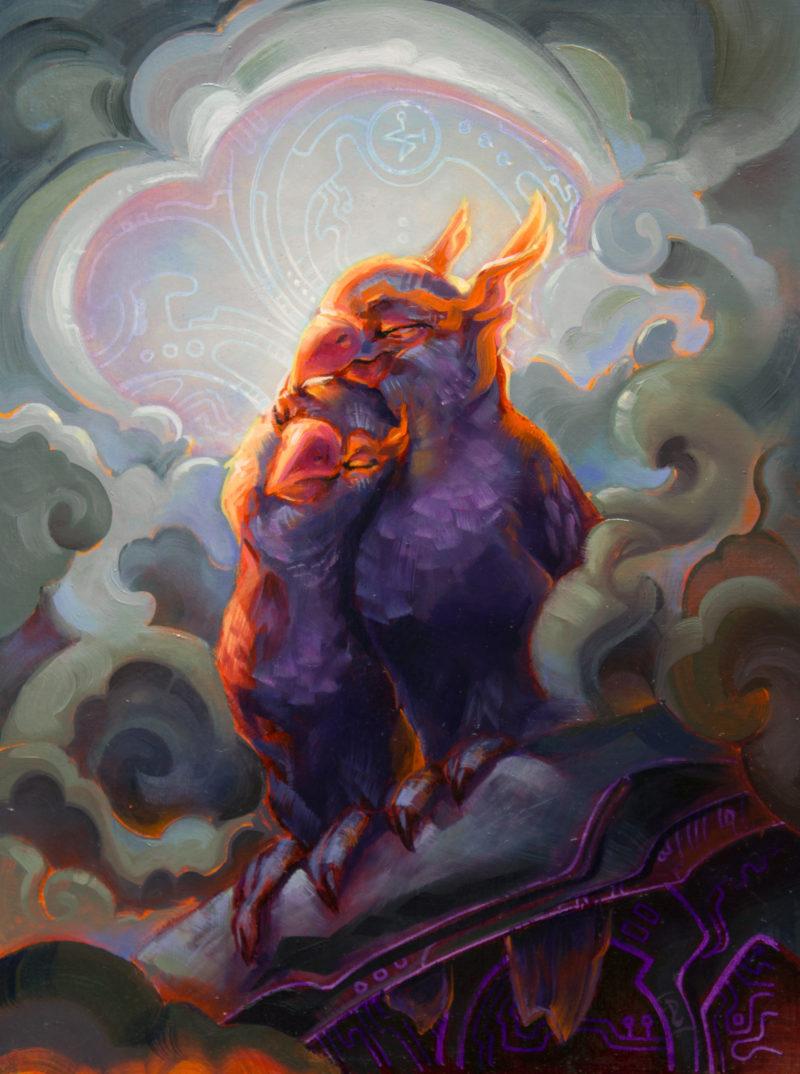 Phoenix Lovebirds