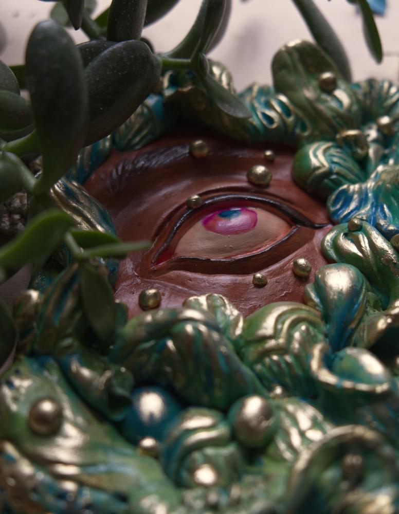 """Viridescent Haze"" by Ejiwa 'Edge' Ebenebe - Closeup 01"