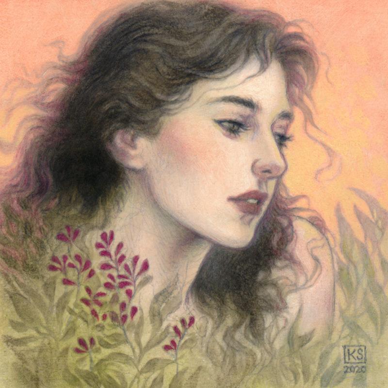 """Spring Meditation"" by Kaysha Siemens"