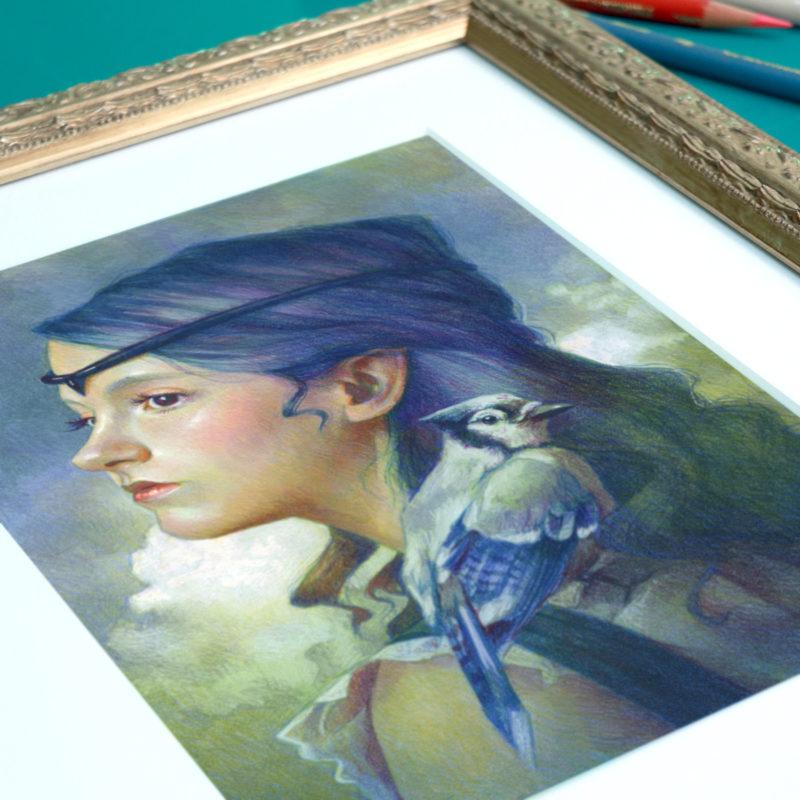 """""""Blue Jay"""" - by Christine Kornacki"""