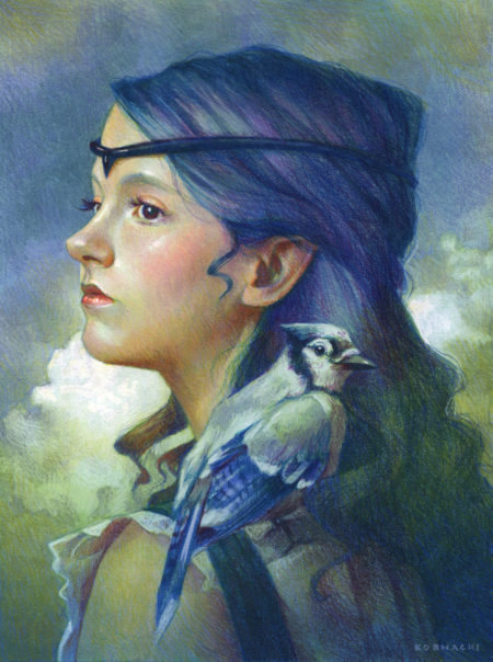 """Blue Jay"" - by Christine Kornacki"