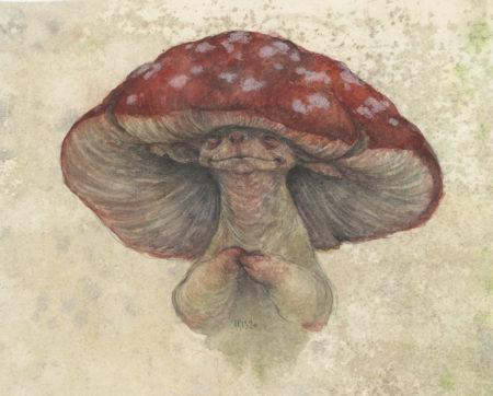 """Amanita"" - by Iris Compiet"