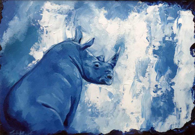 """Blue Ruby"" by Corina St. Martin"