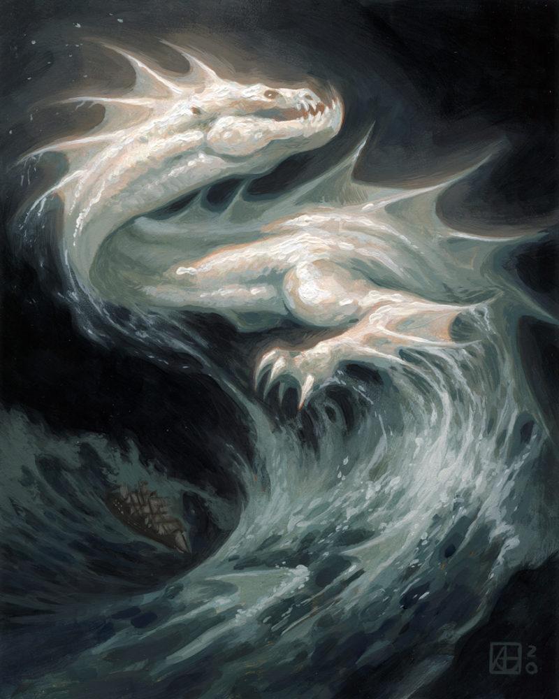 Dragon #47 - Ghost of the Atlantic, Full Image