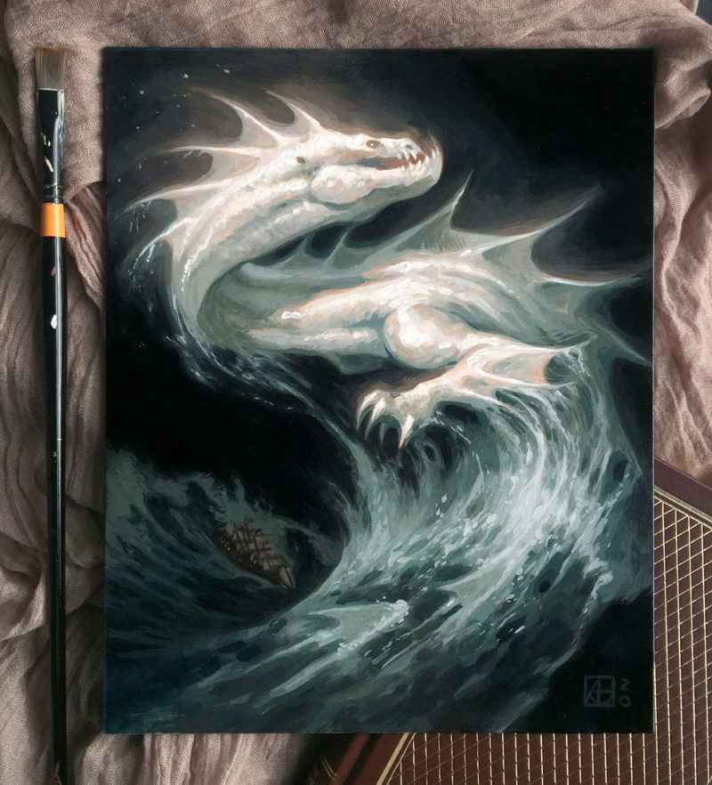 Dragon #47 - Ghost of the Atlantic, Photo