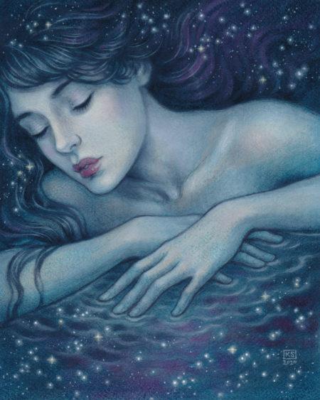 """""""Starry Sea"""" by Kaysha Siemens"""