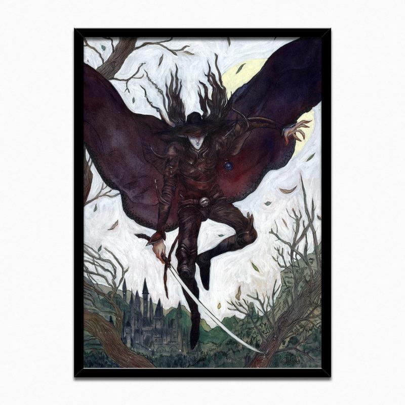 Full image of framed painting